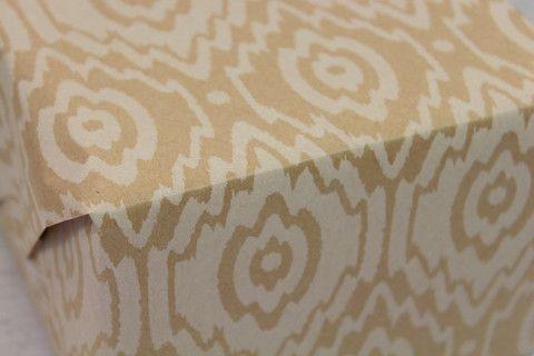 Kraft Ikat Wrapping Paper   Pop Roc Parties