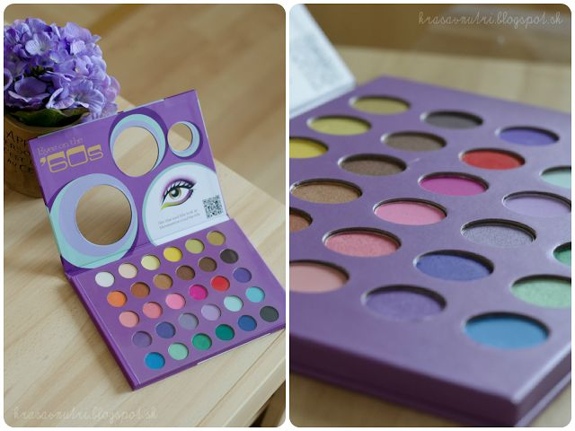 BH Cosmetics Palette - Eyes on The 60s