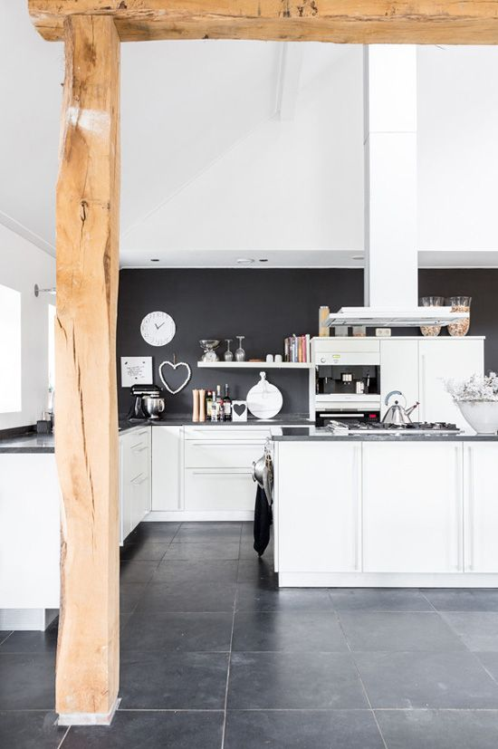 #Crush | Une cuisine black & white sur www.decocrush.fr