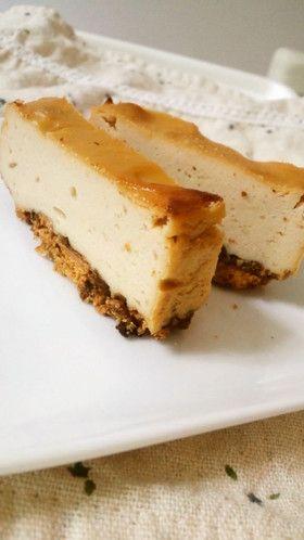 濃厚☆豆腐ベイクドチーズケーキ
