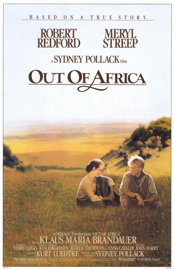Out of Africa Movie Posters From Movie Poster Shop. I love this movie!