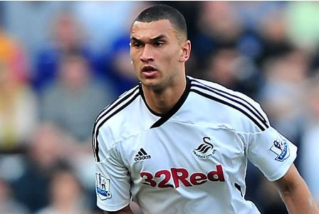 """STEVEN Caulker would be """"delighted"""" to rejoin Swansea City next season — but admits his future is in Tottenham's hands.    The centre-back has returned to Spurs after an impressive year-long loan at the Liberty Stadium, and his parent club are unlikely to let the highly-rated 19-year-old leave permanently."""