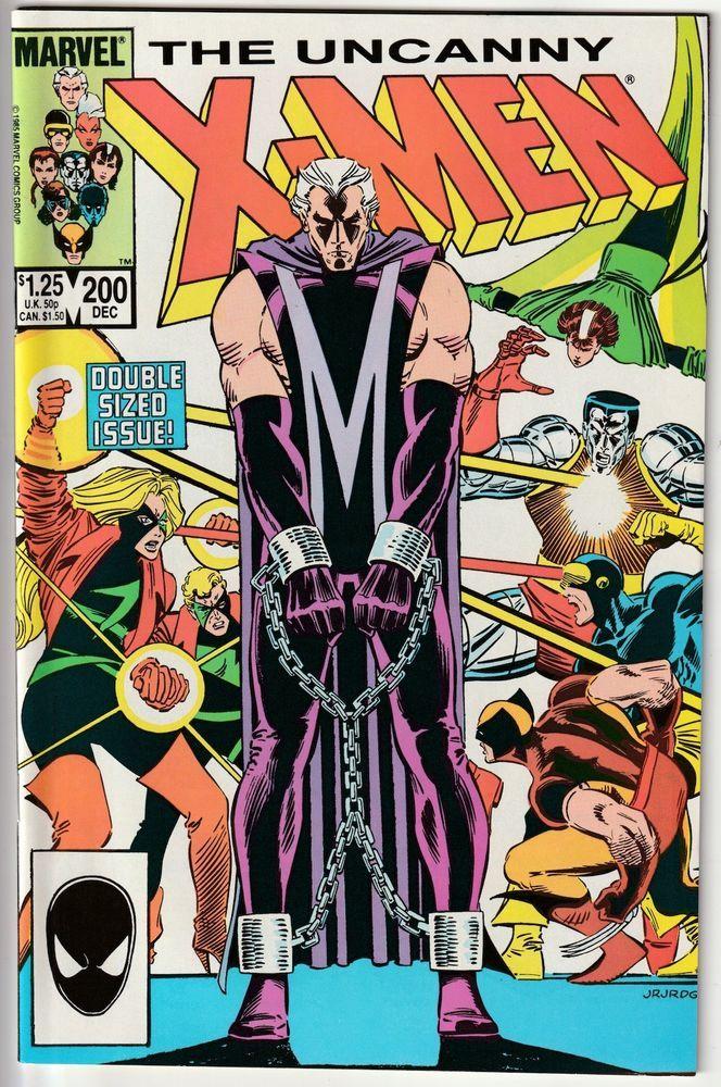 The Uncanny X Men 200 Professor X Quits The X Men 1st Appearance Of Fenris Comic Book Collection Marvel Comics Covers Marvel Comic Books