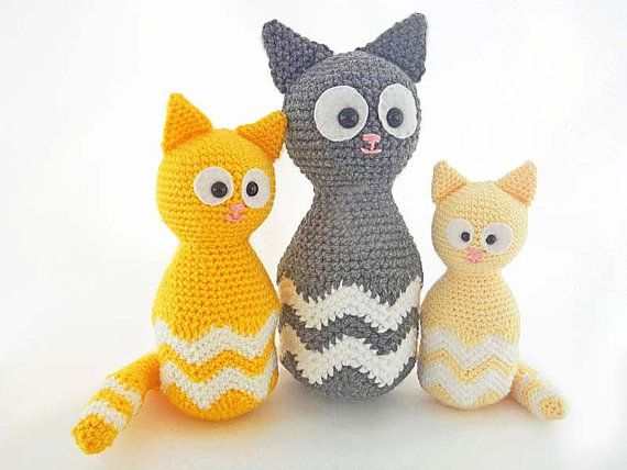 Amigurumi Kitten Patterns : Best crochet amigurumi patterns images