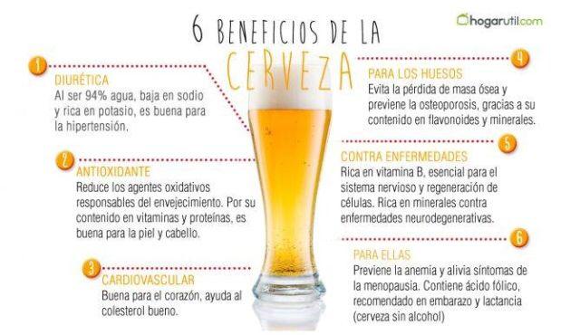 Beneficios De La Cerveza Pero Siempre Con Un Consumo