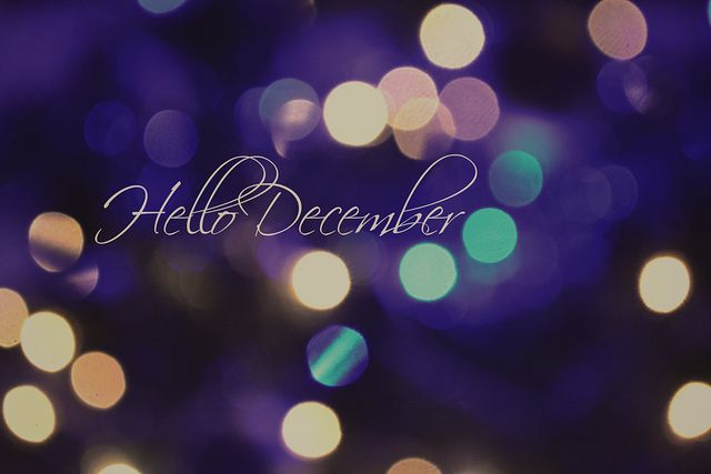 welcome December :)