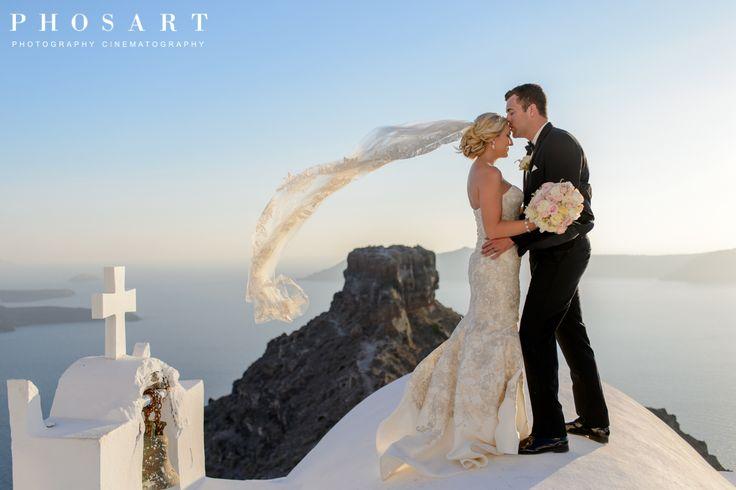 Santorini wedding, destination wedding