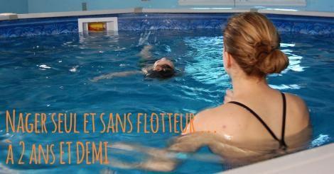 Apprendre à nager autrement et plus tôt, c'est possible!