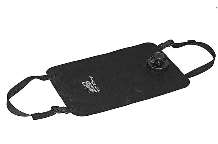 Waterbag, 10 litres, black, by Touratech Waterproof - Water bags - Drinking water - Travel equipment | Touratech Canada