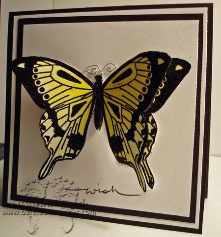 butterfly: Scrapbook Cards, Butterfly Tutorial 008, Handmade Cards, Card Ideas, Butterfly Images, Paper Inspiration