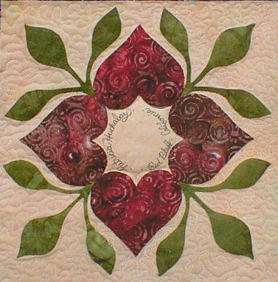 The Heart Circle Quilter's Retreat - cute idea and pattern.