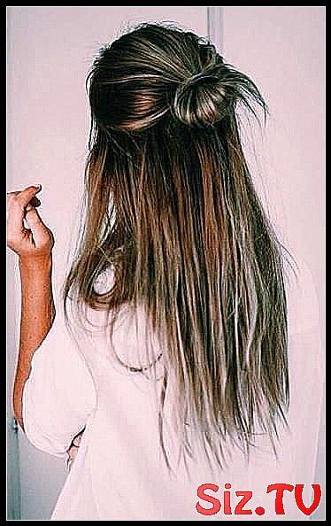 51 Trendy hairstyles half up half down casual cute hair,  #Casual #cute #hair #hairstyles #Tr...