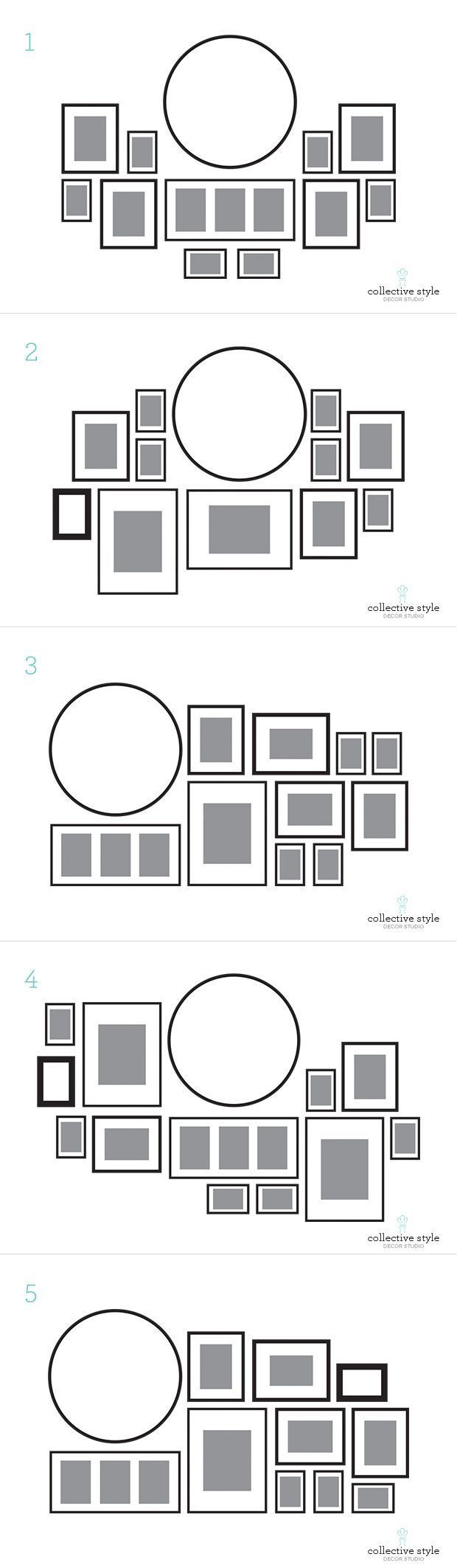17 meilleures id es propos de arrangements de cadre de mur sur pinterest dispositions de. Black Bedroom Furniture Sets. Home Design Ideas
