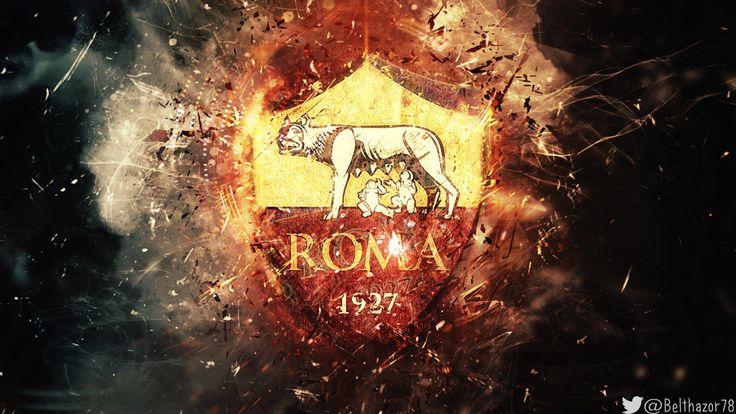 A.S. Roma grunge wallpaper by Belthazor78.deviantart.com on @DeviantArt