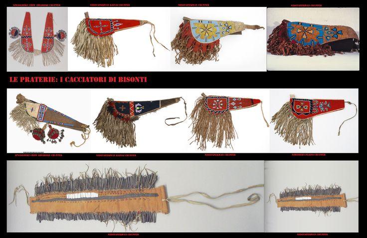 Avendo mutuato dagli spagnoli la pratica dell'equitazione, anche l'attrezzatura utilizzata derivava da modelli iberici. La groppiera è la parte dei finimenti usata per impedire che la sella scivoli in avanti, è costituita da una striscia di cuoio che, fissata alla sella, corre lungo la groppa e gira intorno alla coda. Anch'essa era oggetto di una ricca decorazione.