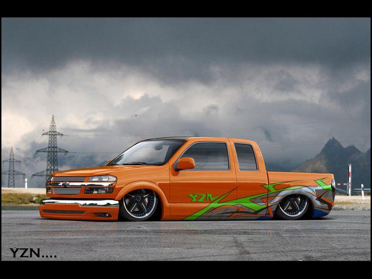 Chevy Colorado low by Yzn90.deviantart.com on @DeviantArt