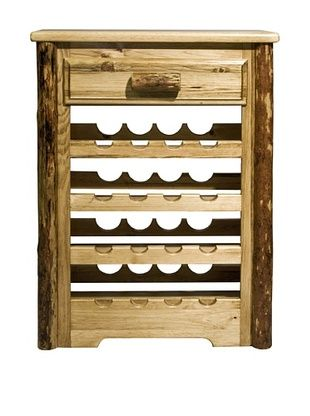 48% OFF Montana Woodworks Glacier Country Wine Cabinet