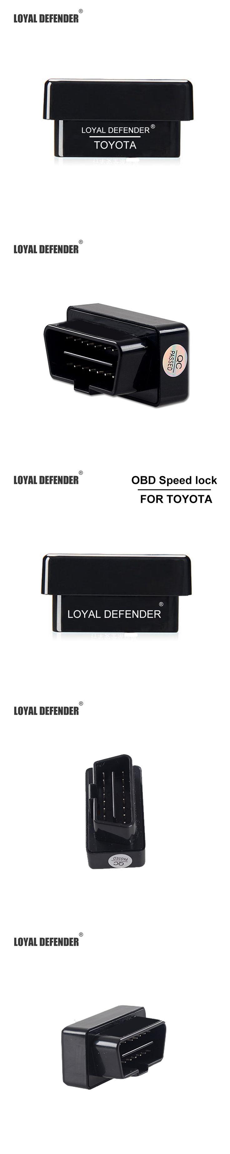 2016 New Smart Auto OBD Speed Lock Profession Produce Car OBD Door Lock Device for Camry/Corolla/Rav4/Prado car auto OBD lock