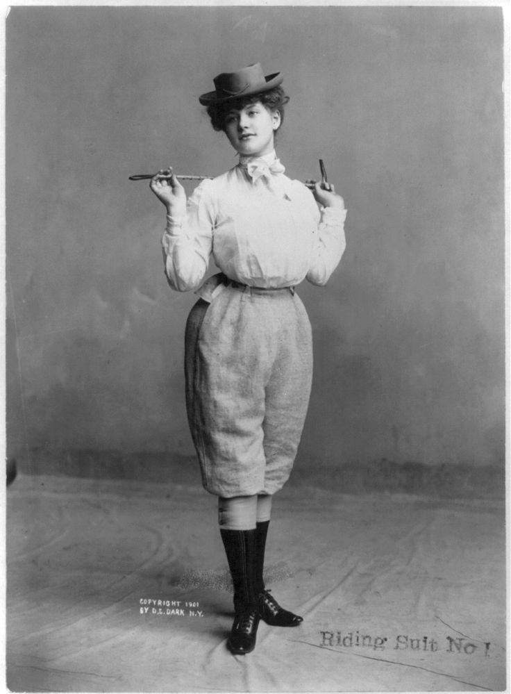 1901 riding suit