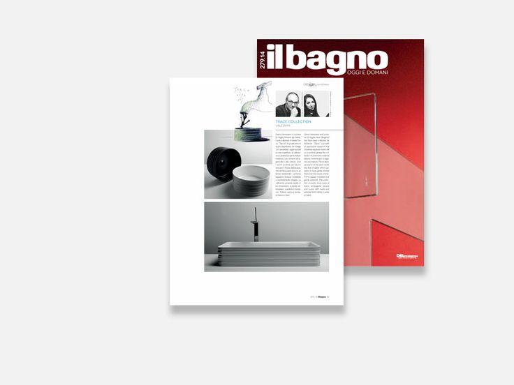 """Il Bagno """"Design_Anteprima"""" - collezione #Trace by Veneziano+Team  #Valdama #IlBagno #IlBagnoOggieDomani #MadeinItaly #ItalianStyle #ceramics #bathroom #design #bathroomdesign #mdw #MilanoDesignWeek2014"""