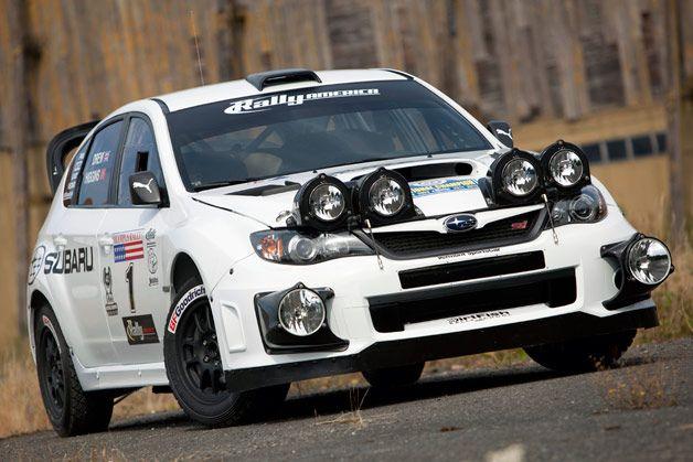 David Higgins' 2012 #Subaru WRX STI #RallyCar