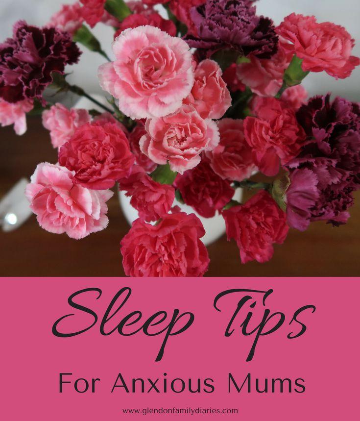 Sleep Tips For Anxious Mums