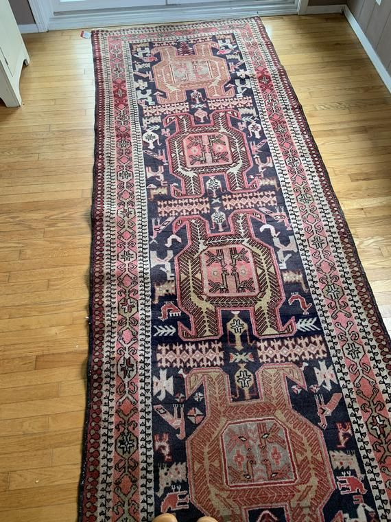 Vintage Gorgeous Rug Thick Pile Hand Knotted Persian Rug Etsy Gorgeous Rug Rugs Persian Rug