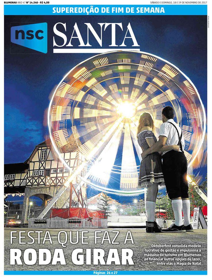 11/18/2017,JORNAL DE SANTA CATARINA (Blumenau, Brazil)