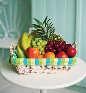 Variety of fruits. This should equal all up to 8 servings of fruit.