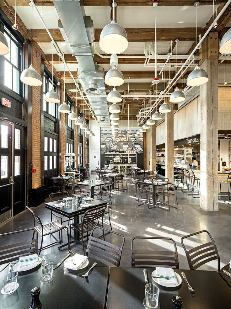 Interior Architectural Photograph of Restaurant Row 34