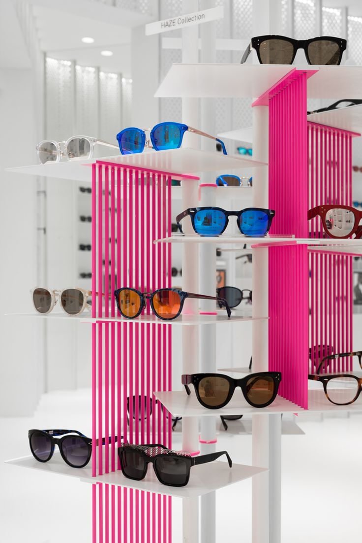 multibrand eyewear retailer launches a new store concept in shanghai.