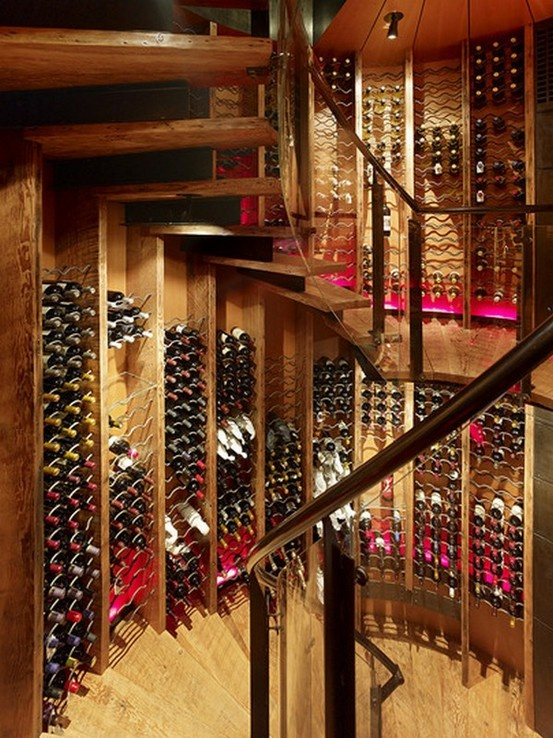 Wine Room - no wasted space here