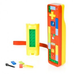 Customisable LEGO Nintendo Wii Controller #gadget gifts http://www.giftgenies.com/presents/lego-nintendo-wii-controller