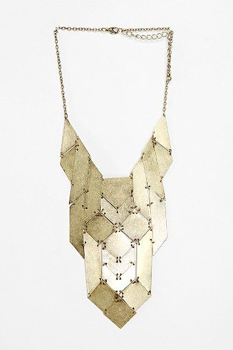 from urban outfitters: Palmdale Necklace, Palmdal Necklaces, Urban Outfitters, Statement Necklaces, Panels Necklaces, Accessor, Necklaces 24, Fashion Necklaces, Bibs Necklaces