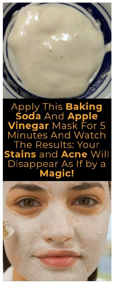 APPLY THIS BAKING SODA AND APPLE VINEGAR MASK FOR 5 MINUTES AND WATCH THE RESULTS: YOUR STAINS AND ACNE WILL DISAPPEAR AS IF BY A MAGIC ,  Warren Colli | Yoga Instructor | Influencer | Health Advisor |