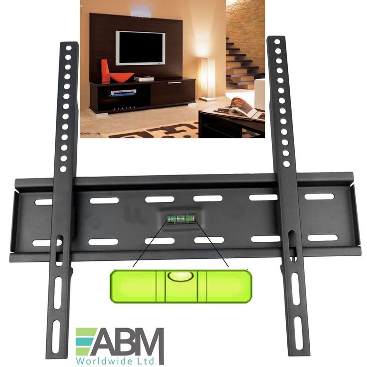 "Slim tv wall bracket #mount for #32-55"" inch 26 32 40 42 48 55 #plasma led lcd 3d,  View more on the LINK: 	http://www.zeppy.io/product/gb/2/201569116400/"