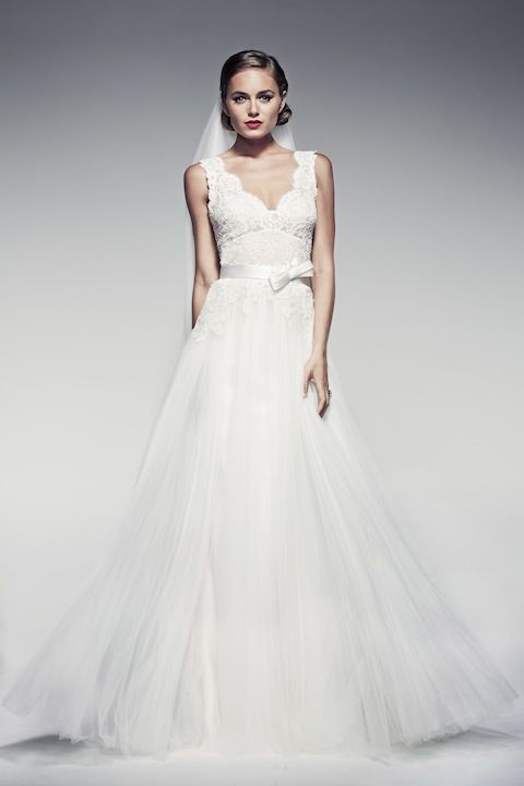 Amabelle by Pallas Couture | via http://pallascouture.com