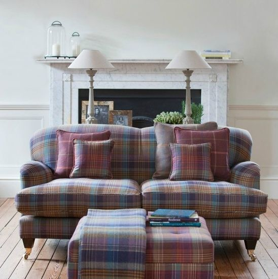 Interni e tartan: lo stile autunnale (e invernale) parla scozzese - Design news - GraziaCasa.it