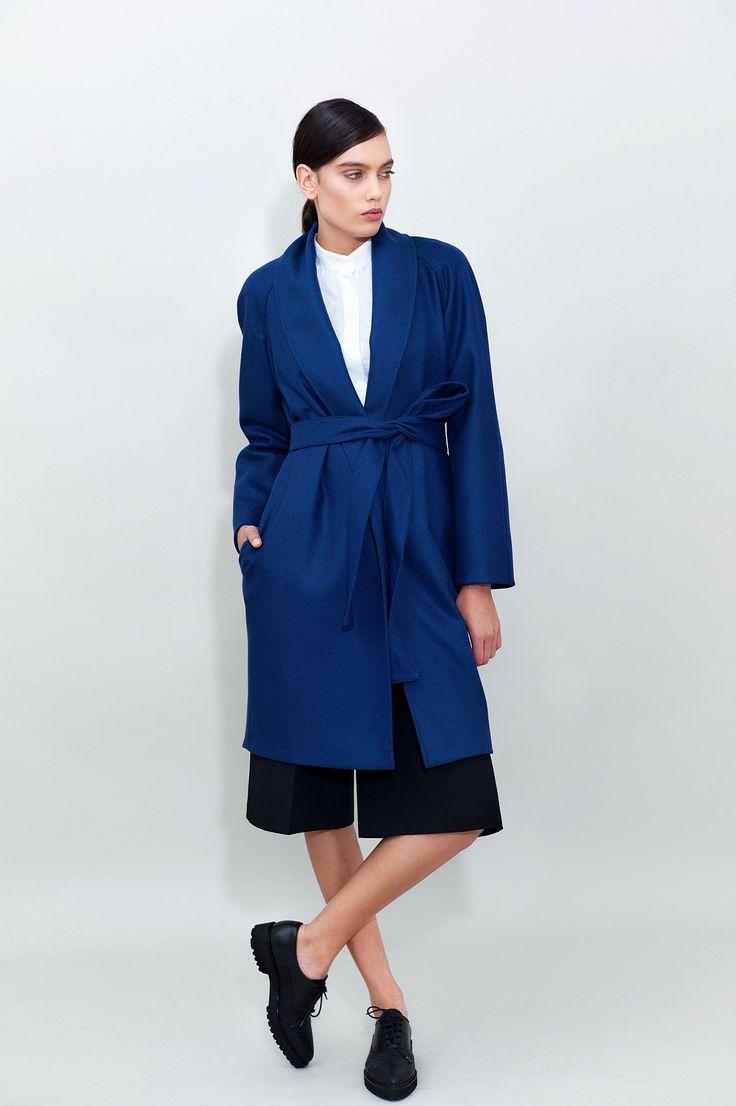 Oversized Wool Coat - chemistry