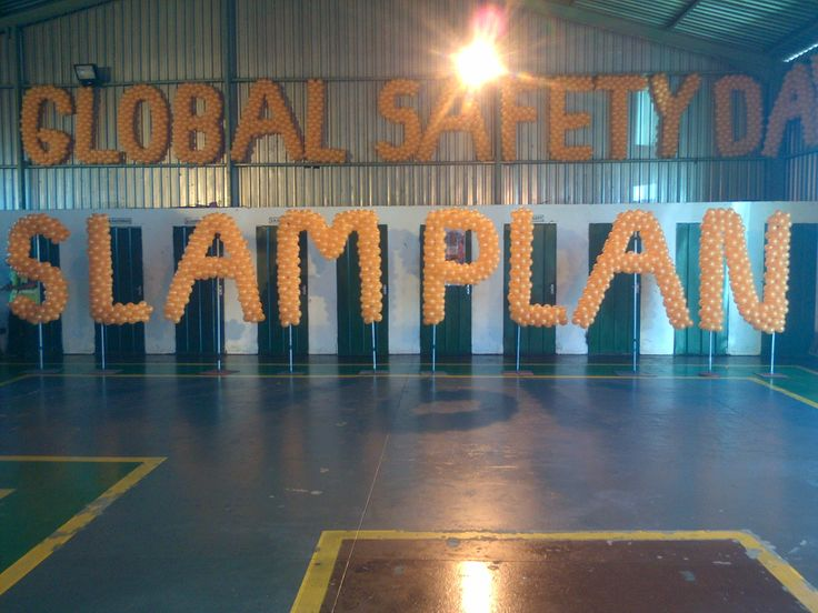 Global Safety Day Slam Plan - Anglo American Kriel