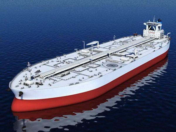 3D Obj Oil Tanker - 3D Model