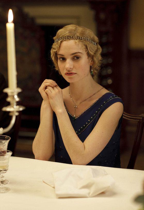 Lady Rose Downton Abbey Downton Abbey Pinterest