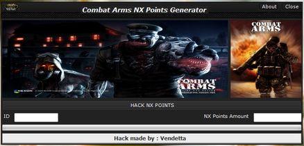 Combat arms Hacks and Generators  Combat Arms is a game of first person shooter online where you can play in different militarist ​​clashes with other players from around the world, In the game a specialized game currency is used, which can collected and buy, for better weapons, facilities tog...