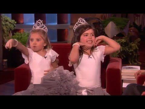 Sophia Grace and Rosie See Fairies on Ellen