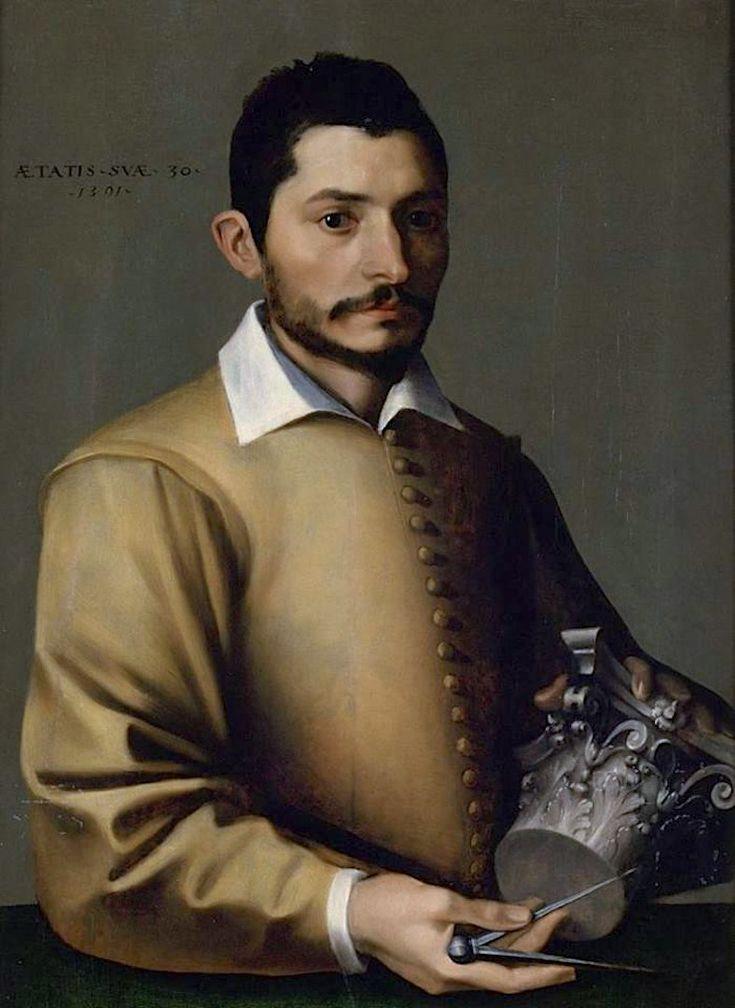 Giuseppe Cesari (Il Cavaliere d'Arpino), Portrait of a Young Architect, 1591