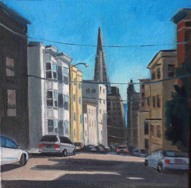San Francisco 8x8 oil