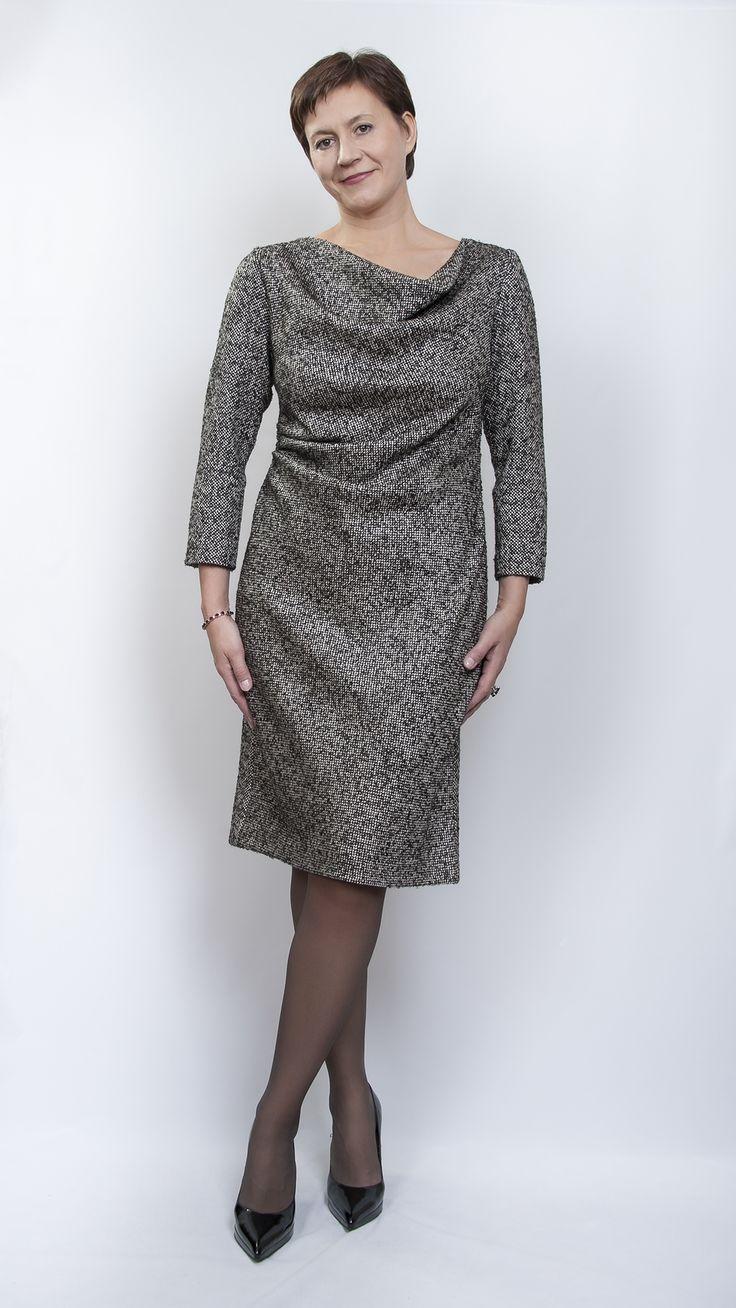 Твидовое платье октября