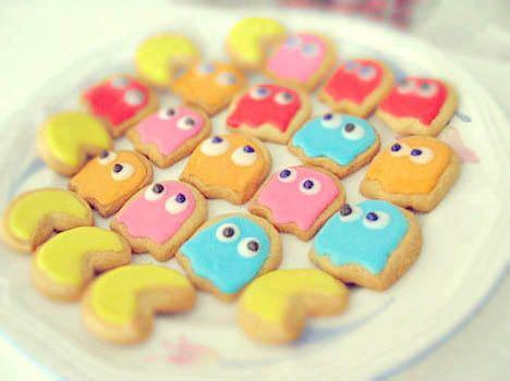 Pac - Man cookies