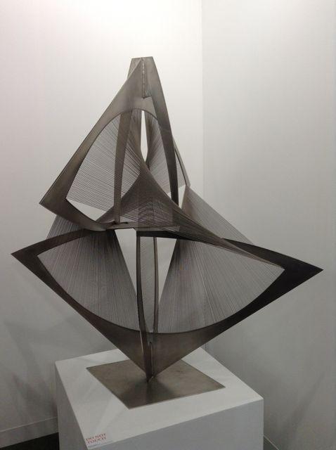 Torsion, Variation c. 1974/75. Naum Gabo. #artbasel #basel2014 #Sculpture