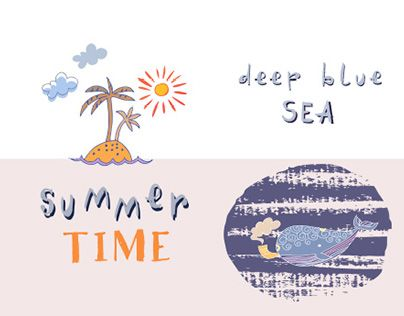 """Check out new work on my @Behance portfolio: """"Summer Time"""" http://be.net/gallery/50173975/Summer-Time"""